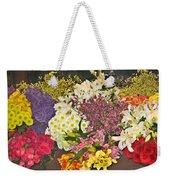 Beautiful Blooms Weekender Tote Bag