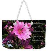 Beautiful Blossom 2 Weekender Tote Bag