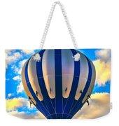 Beautiful Blue Hot Air Balloon Weekender Tote Bag