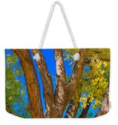 Beautiful Blue Sky Autumn Day Weekender Tote Bag