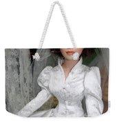 Beautiful Bride Weekender Tote Bag