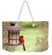 Beautiful Cardinal Weekender Tote Bag