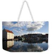 Beautiful Clouds Over Motlawa River - Gdansk Weekender Tote Bag