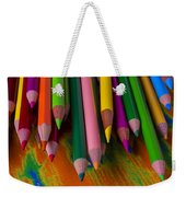 Beautiful Colored Pencils Weekender Tote Bag