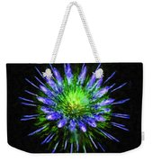 Beautiful Colorful Holiday Fireworks 1 Weekender Tote Bag