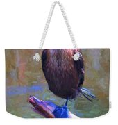 Beautiful Cormorant Weekender Tote Bag