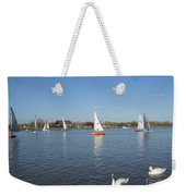 Beautiful Day By The River Weekender Tote Bag