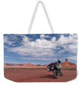 Beautiful Day For A Ride Weekender Tote Bag