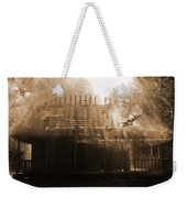 Beautiful Disaster Weekender Tote Bag