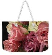 Beautiful Dramatic Roses Weekender Tote Bag