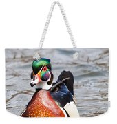 Beautiful Duck Weekender Tote Bag