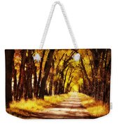 Beautiful Fall Day In Nebraska Weekender Tote Bag