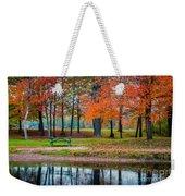 Beautiful Fall Foliage In New Hampshire Weekender Tote Bag