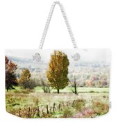 Beautiful Fall Landscape - Looks Like A Painting Weekender Tote Bag
