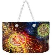 Beautiful Fireworks 8 Weekender Tote Bag