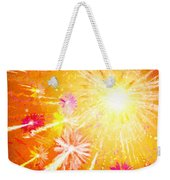 Beautiful Fireworks Weekender Tote Bag