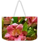 Beautiful Floral  Weekender Tote Bag