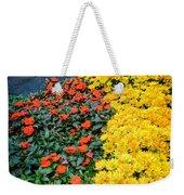 Beautiful Flower Garden Bellagio Las Vegas Weekender Tote Bag