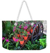 Beautiful Flower Wagon Weekender Tote Bag