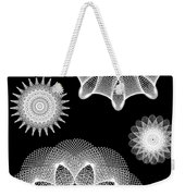 Beautiful Geometry Bw Weekender Tote Bag