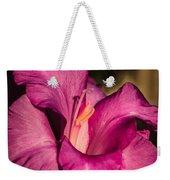 Beautiful Gladiolus Weekender Tote Bag
