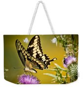 Beautiful Golden Swallowtail Weekender Tote Bag