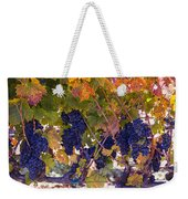 Beautiful Grape Harvest Weekender Tote Bag
