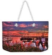 Beautiful Harbor Weekender Tote Bag