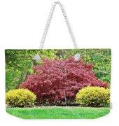Beautiful Japanese Maple Weekender Tote Bag