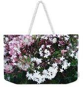 Beautiful Jasmine Flowers In Full Bloom Weekender Tote Bag
