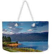Beautiful Lake View Weekender Tote Bag