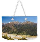 Beautiful Makarora Valley On South Island Of Nz Weekender Tote Bag