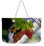 Beautiful Maple Leaf Weekender Tote Bag
