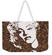 Beautiful Marilyn Monroe Digital Artwork Weekender Tote Bag