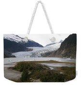 Beautiful Mendenhall Glacier Weekender Tote Bag