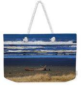 Beautiful Ocean Shores Weekender Tote Bag