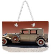 Beautiful Old Time Travelling Car Weekender Tote Bag