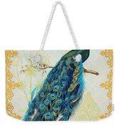 Beautiful Peacock-a Weekender Tote Bag