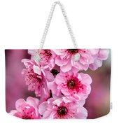 Beautiful Pink Blossoms Weekender Tote Bag
