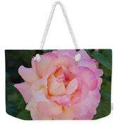 Beautiful Pink Rose Weekender Tote Bag