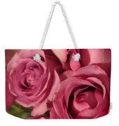 Beautiful Pink Roses 6 Weekender Tote Bag