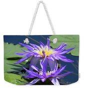 Beautiful Purple Lilies Weekender Tote Bag