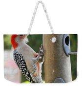 Beautiful Red Belly Woodpecker Jr Weekender Tote Bag