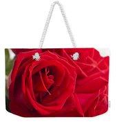 Beautiful Red Rose Close Up Shoot Weekender Tote Bag
