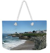 Beautiful Santa Cruz Coast Weekender Tote Bag