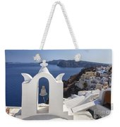 Beautiful Santorini Weekender Tote Bag
