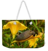 Beautiful Slug Weekender Tote Bag