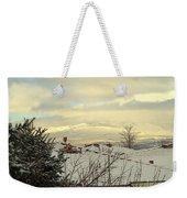 Beautiful Sparkling Snow Weekender Tote Bag