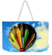 Beautiful Stripped Hot Air Balloon Weekender Tote Bag