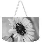 Beautiful Sunflower In Monocrome Weekender Tote Bag